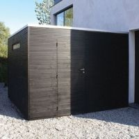 Tuinhuis on pinterest viborg tack box and the orb for Interieur lochristi