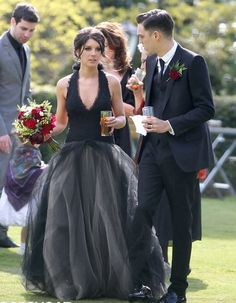 Shenae Grimes and Josh Beech on their wedding day <3