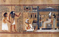 Arte de los imperios antiguos by miguelrxgomez on for Mural egipcio
