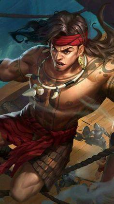 Mobile Legends Lapu-Lapu – Build e dicas Tumblr Mobile, Hero Fighter, Brave, Legend Images, Warrior Drawing, Mobile Legend Wallpaper, The Legend Of Heroes, Best Hero, Free Photoshop