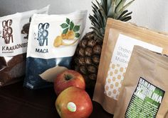 """""""Super foods. This isn't a new thing for me since I've consumed them for quite some time, but right now I'm all excited about a couple of new finds in the area. I took a chunk from my first salary and invested it in delicious power foods. Spirulina algae is my new favourite, it works like magic! """""""