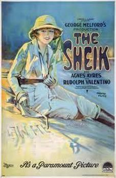 """The original """"Sheikh"""" movie to which """"The Wind and the Lion"""" pays ironic homage, had a feisty heroine just like Candice Bergen's Eden Perdicaris."""