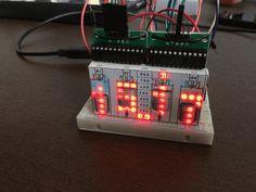 4-Stroke Digital Clock with Arduino