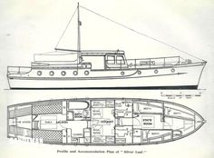 SILVERS JOHN BAIN 42FT 'SILVER LEAF' TSMY 1935 - Sandeman Yacht Company Hatch Cover, The Wheelhouse, Hydraulic Steering, Hydronic Heating, Cabin Cruiser, Water Heating, Classic Motors, Motor Yacht, Old World Charm