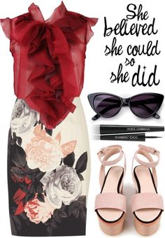 """meeting"" by misspamplemousse ❤ liked on Polyvore"