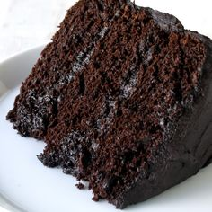The Most Amazing Chocolate Cake is here. Moist, chocolaty perfection. This is the chocolate cake you've been dreaming of!                                                                                                                                                                                 More