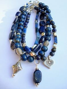 weaversfield, etsy  LOVE this, it totally inspired me to run over to my bead stash to make something :)