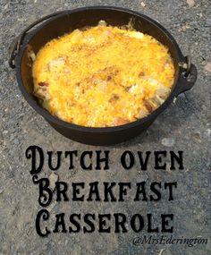 Dutch Oven Breakfast Casserole