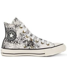 Tênis Converse All Star CT As Hi Amendoa Preto CT03000001