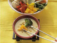 Vegetarisches Fondue mit Curry   Zeit: 30 Min.   http://eatsmarter.de/rezepte/vegetarisches-fondue-mit-curry