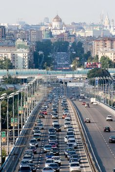 Moscow highway | Russia (by alexript)