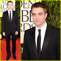 Robert Pattinson - Golden Globes 2013 Red Carpet