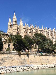 Palma de Mallorca-cathedral. So beautiful.