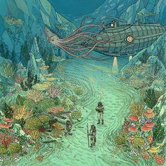 Nicole Gustafson, una de les millors il·lustradores actuals (pel meu gust).