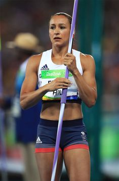 Check out our other photo's of Jess Ennis Hill from Rio. Jess Ennis, Jessica Ennis Hill, Javelin Throw, Heptathlon, 2016 Rio, Female Athletes, Women Athletes, Rio Olympics 2016, Sports Photos