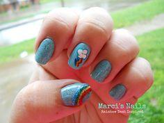 Rainbow Dash Nails!