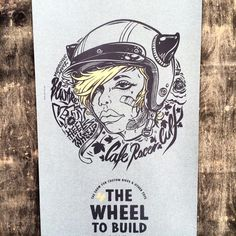 ''Kitty On Wheels'' Limited Edition Poster 4 The Wheel To Build