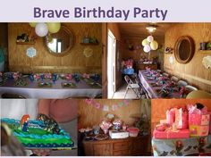 Brave Birthday Party