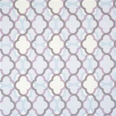 This overlapping geometric wallpaper mixing both warm and cool tones provides a mood similar to that of pantones Rose Quartz and Serenity in combination | Lilac Billows R2231 #pantone #wallpaper #geometric #warm #cool
