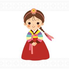 Choose from 60 top Korean Culture stock illustrations from iStock. Find high-quality royalty-free vector images that you won't find anywhere else. Doodle Drawings, Cartoon Drawings, Cute Drawings, Korean Image, Korean Art, Chinese New Year Crafts, New Year's Crafts, Cute Little Boys, Korean Traditional