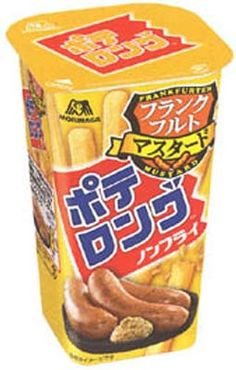 Morinaga Potelong — Sausage Flavor $2.00 http://thingsfromjapan.net/morinaga-potelong-sausage-flavor/ #Japanese snack #delicious Japanese snack #Japanese chips