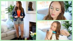 Here is a 'Get Ready With Me' video for you. Tanya Burr, British Youtubers, Hair Inspiration, Dating, Night, Makeup, Face, Natural Beauty, Candy