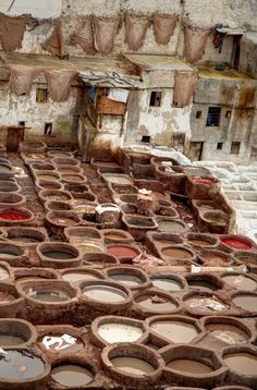 Leather tannery, Fes, Morocco | by PnP!