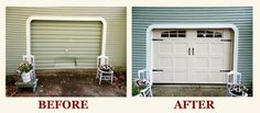 At WinsMor Garage Door Co. we believe that replacing your old garage door doesn't have to be a large investment to provide quality and enhanced beauty. This is why we are offering our DoorLink INSULATED CARRIAGE HOUSE DOOR as an or for. Old Garage, Garage Doors, Shop Local, Carriage House, Pilot, Outdoor Decor, Home Decor, Homemade Home Decor, Decoration Home