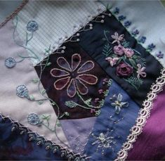Crazy quilt embroidery - unleash your creativity