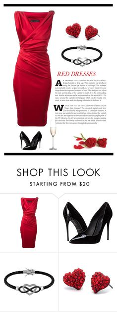 """""""Shine"""" by patricia-dimmick on Polyvore featuring Dsquared2, Dolce&Gabbana, Jewel Exclusive, Fantasy Jewelry Box, Rogaška, women's clothing, women, female, woman and misses"""