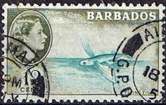 Barbados 1963 QE II Flying Fish Fine Used SG 315 Scott 260 Other West Indies and British Commonwealth Stamps HERE!