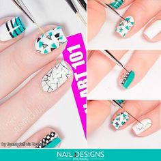 Types Of Nail Brush and Tips How Use Them ❤️ Striper or Liner Brush picture 1 ❤️ We decided to fix that and suggest to your attention a guide into the world of nail brush! https://naildesignsjournal.com/nail-brush-guide/ #naildesignsjournal #nails