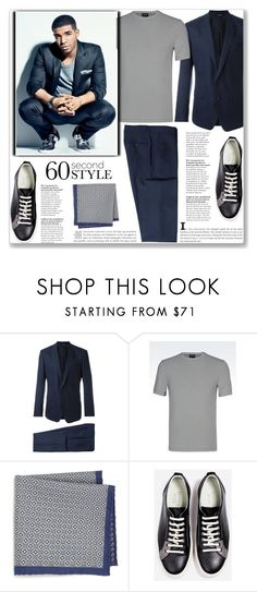 """""""Redemption"""" by mood-chic ❤ liked on Polyvore featuring Dolce&Gabbana, Giorgio Armani, Saks Fifth Avenue Collection, men's fashion, menswear, DRAKE, views and 60secondstyle"""