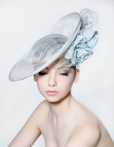 9ca8d641b13 Saucer Hat With Double Silk Roses from Rose Young Millinery Ascot Dress  Code