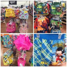 a096947730848 Cute Kids Swimsuits from Walmart for Under $10 Slumber Party Activities,  Slumber Parties, Cute