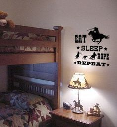 Western Quote wall decal, Horse sticker-Roping Quote decal- Horse, 27 inches x 26 inches. 129-HQ
