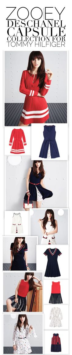 Zooey Deschanel Capsule Collection for Tommy Hilfiger