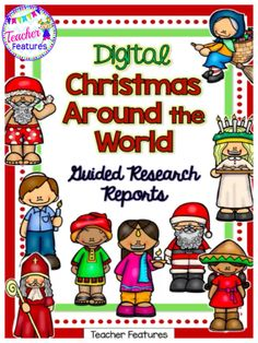 A Christmas Around the World digital research project. Students will love the interactive Google Slides graphic organizers in this no prep Christmas pack. Informational text for each Holiday and Christmas Celebrations Around the World are included.  #Christmas #ChristmasAroundtheWorld #TeacherFeatures #digitallessons #GoogleClassroom #commoncore #ResearchProject #WritingCenter   #ELA #GraphicOrganizer #noprep #Writingprompts #1stgrade #2ndgrade #3rdgrade
