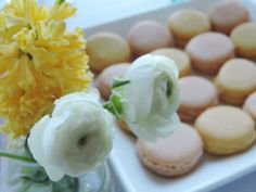 Beautiful and delicious pastel macrons are perfect for every occasions. Pastel, Candy, Bar, Weddings, Vegetables, Beautiful, Food, Cake, Wedding
