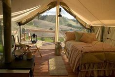 Glamping in Moscow, Idaho