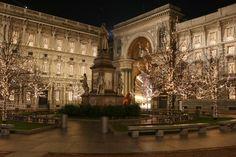 Piazza della Scala - #Milano, #Italia