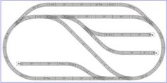 Model Train Layouts & Track Plans - Various projects, designed with SCARM layout software