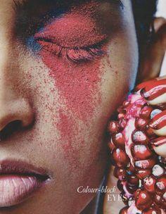 Rasika Navare for Grazia India April 2014 #prom eyebrows #prom lips