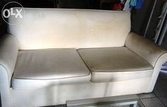 White 2 Seater Couch Cape Town - image 1 Couches For Sale, Cape Town, Love Seat, Image, Furniture, Home Decor, Decoration Home, Room Decor, Small Sofa