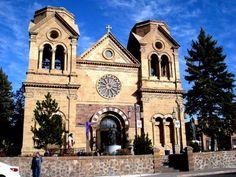 ST FRANCIS CATHEDRAL -- Santa Fe, N.M.