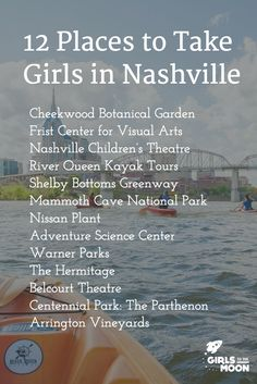 12 Artsy, Active, Historic and Science-y Things To Do In Nashville With Girls | Girls to the Moon