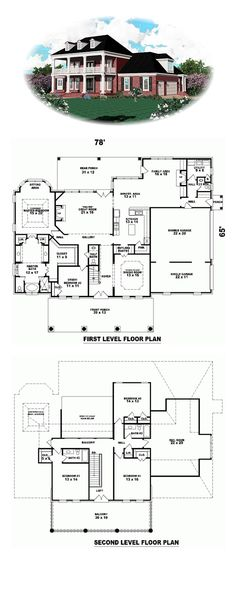 3 bedrooms, 3 full bathrooms and 2 half baths. c sh · minecraft modern house blueprints Best House Plans, Country House Plans, Dream House Plans, House Floor Plans, Minecraft Modern House Blueprints, Colonial Style Homes, Plantation Homes, Craftsman House Plans, Minimalist House