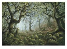 hobbit forests painting - Google Search