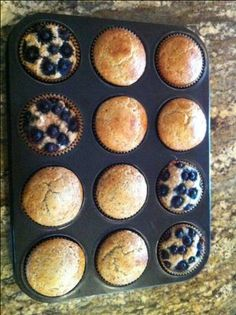 Almond Flour Muffins | Trim Healthy Mama - 1 to 2 for S