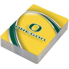 NCAA Oregon Ducks Playing Cards by Hunter. $4.95. Oregon Ducks Playing CardsTeam colors and logoStandard suitsOfficially licensed collegiate productStandard suitsTeam colors and logoOfficially licensed collegiate product